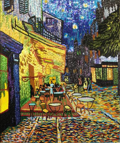 ゴッホ夜のカフェテラス